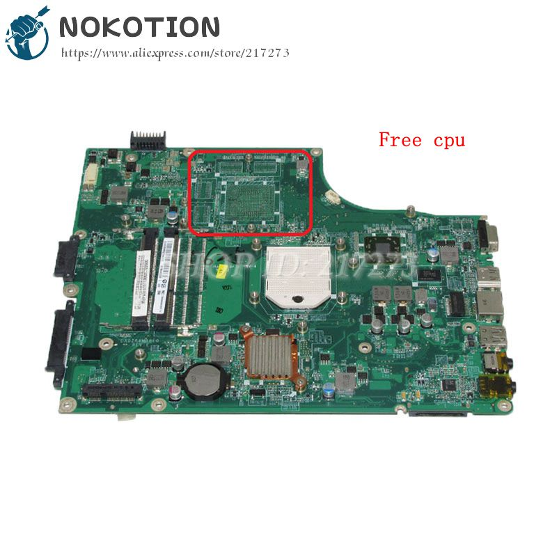 NOKOTION MBPV606001 MB.PV606.001 For Acer aspire 5553 5553G Laptop Motherboard DA0ZR8MB8E0 Socket s1 Free cpu DDR3 da0zr8mb8e0 mbpu806001 mb pu806 001 for acer aspire 5625 5625g 5553g laptop motherboard hd5470 ddr3