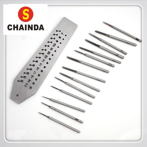 Free Shipping 1 Set  Tap and Die Set 0.7mm to 2.00mm 14 Taps and Dies consenting to die