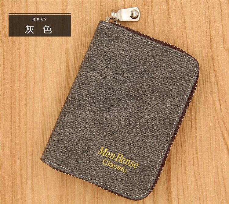 K99_09Menbense Rfid Wallet Blocking Reader Lock ID Bank Card Male Metal Aluminium Credit Card Holder Anti Protect Blocking K99