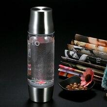 XIAOMAOTU 450 ml. Generation Wasserstoff Wasserflasche Reiche Wasserstoff Hohe Borosilikatglas Ionisator Wasserflasche bpa-frei
