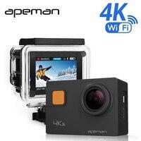 Apeman Waterproof Sports Action Camera 4K 20MP Wi Fi Action Cam Waterproof 30M 2 0 Inch