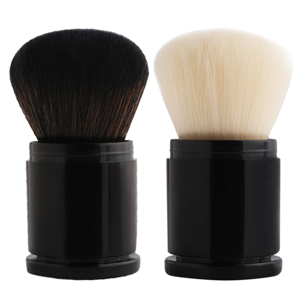 1pc Portable Mini Retractable Makeup Brush Portable Face Powder Contour Foundation Blush Brush Professional Soft Make up Brushes
