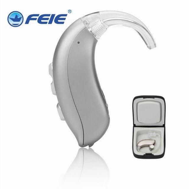 Earphone Hearing Enhancement Machine Behind Ear Digital Amplifier Phone Hearing Aid MY-22 Free Shipping devices for hearing mini digital hearing aid voice recorder minds aparelho auditivo 6 canais s 16a free shipping