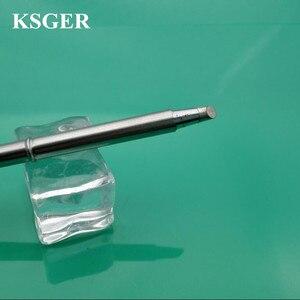 Image 3 - KSGER Saldatura Elettronica di Ferro 220v 70W T12  BC1 T12 BC3 JL02 C08 Saldatura Punte di Ferro Saldatura Suggerimento Per FX9501 Stazione di Saldatura