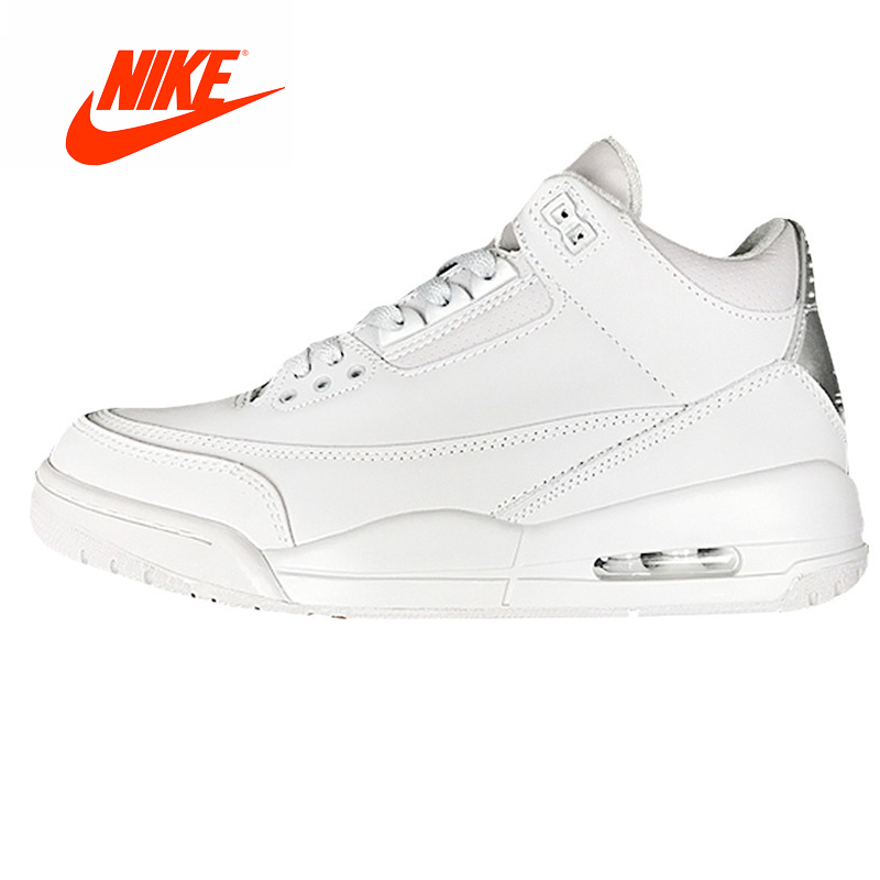 4fa8a9ca320 Original New Arrival Authentic Nike Air Jordan 3 Retro AJ3 Sport Men's  Basketball Shoes Breathable Cushioning Sneakers Outdoor