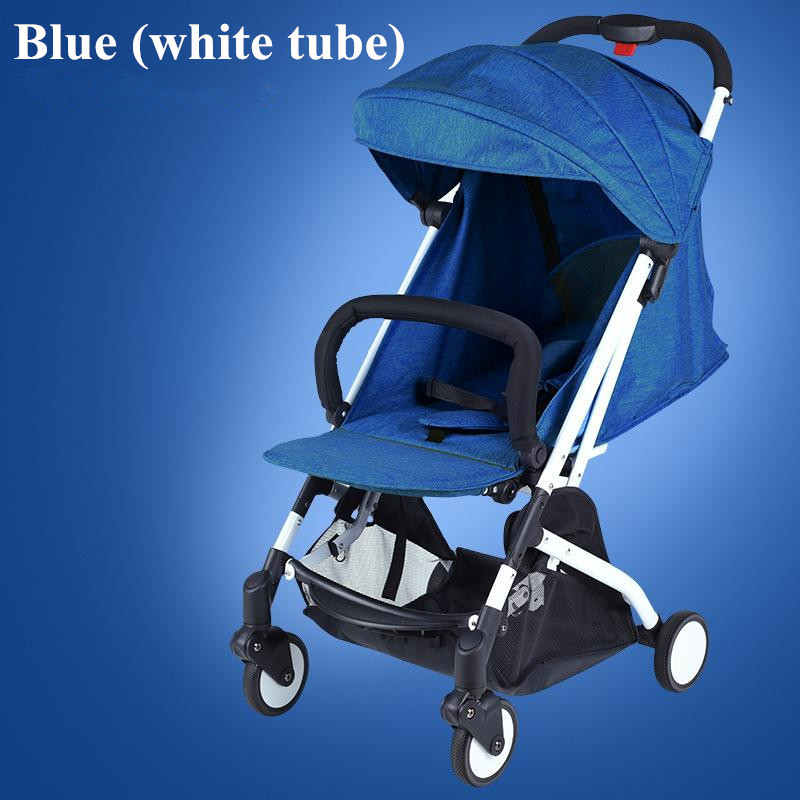 2017 Brand New 4 in 1 Newbore Umbrella Pram Lightest Portable Baby Strollers Four Wheels Anti-Shock One Key Folding Cart05