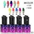 (choose 10 ) Mood Color Changing Nail Polish Lacquer Long Lasting 15ML Soak Off Gel Nail Varnish 205 fashion color for choose