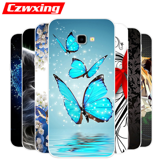 best sneakers 69bc6 b1379 US $1.23 20% OFF|For Samsung Galaxy J4 Plus Case Silicone TPU Cover Phone  Case For Samsung J4 Plus 2018 J415F J415 SM J415F J 4 J4Plus Case Soft-in  ...