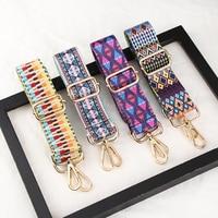 1 Uds correas para bolso de hombro nailon de colores arco iris ajustable para colgar en el hombro correas para bolso accesorios decorativos de moda para mujer