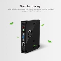 XCY карманный мини ПК Intel Celeron 1007U Мини компьютер оконные рамы 10 HTPC ТВ коробка 300 м Wi Fi HDMI USB мини ПК пластик