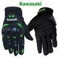Kawasaki venda quente da motocicleta luvas luva motoqueiro moto motocicleta luvas de moto ciclismo motocross guantes luvas gants moto