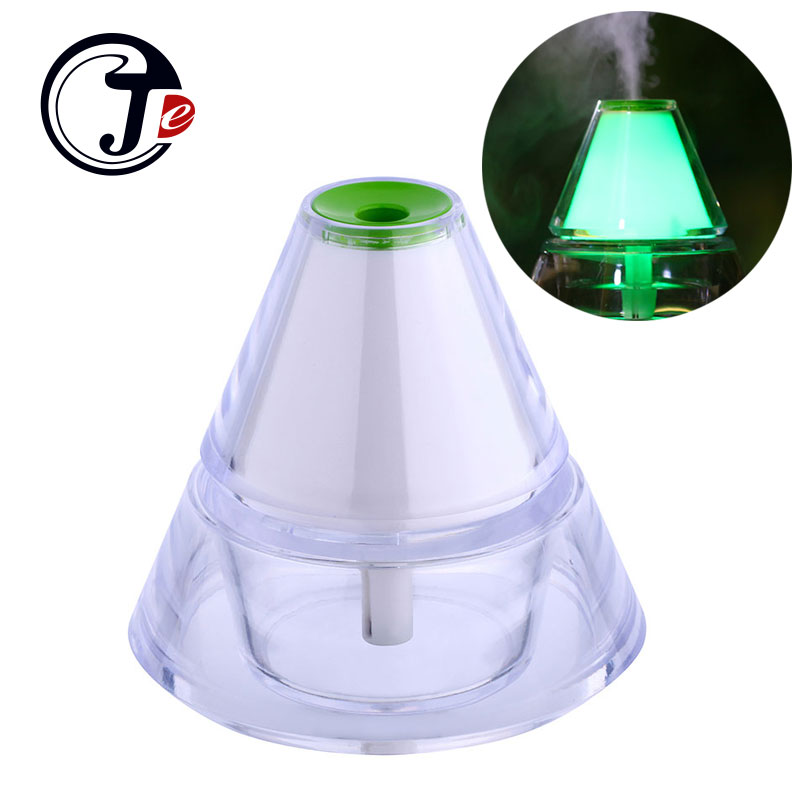 140ML Iceberg USB Humificador Mist Maker With Color LED Light Ultrasonic Humidifier Essential For Diffuser Air Purifier For Home