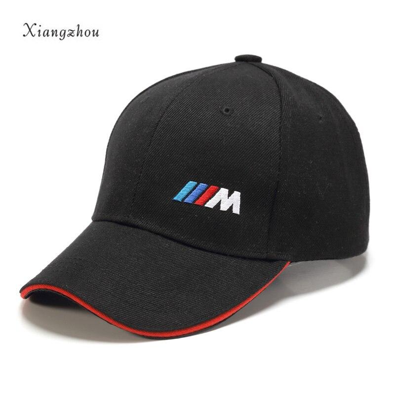 YABODANG auto stlying m emblem Baseball Kappe hut Für BMW E46 E39 E90 E60 E36 F30 F10 F20 E38 E91 e53 E70 X5 X3 X6 M M3 M5 2 Serie
