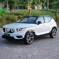 1:18 Scale Alloy Pull Back Toy Vehicles XC40 Series Car Model Of Children's Toy Cars Original Authorized Authentic Kids