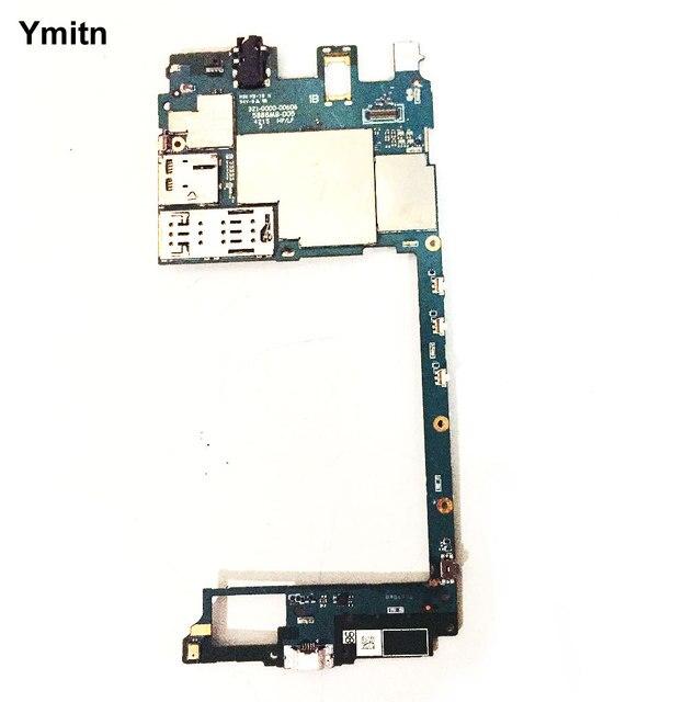Sbloccato Ymitn Mobile Pannello Elettronico Mainboard della Scheda Madre Circuiti Cavo Della Flessione Per Sony Xperia C5 Ultra E5506 E5553 E5533 E556