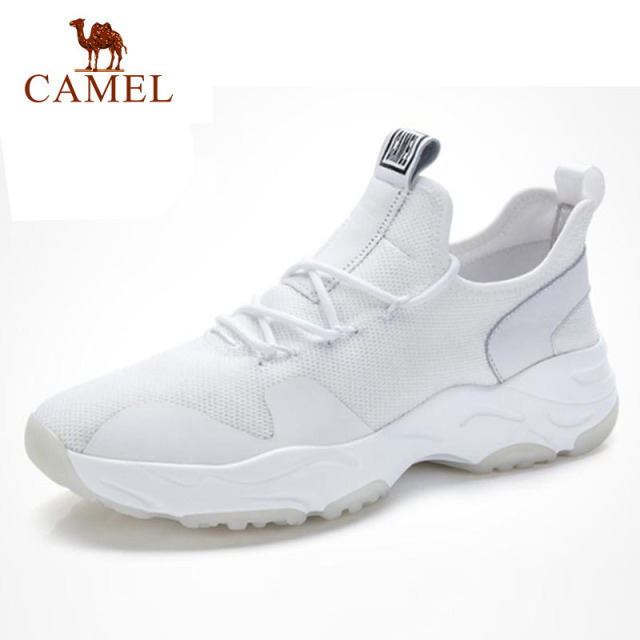 3011068bed37 CAMEL New Ins Super Hot Sales Men Shoes Autumn Breathable Fashion Men s  Shoes Black White Male Footwear Chaussure Homme