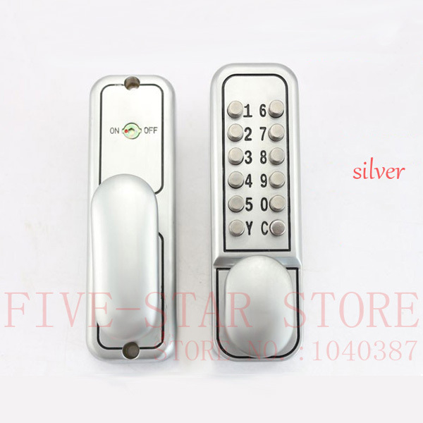 Aliexpress com Buy free shipping simple design keyless mechanical password  door lock digital code door lock. Lock For Bedroom Door With Key