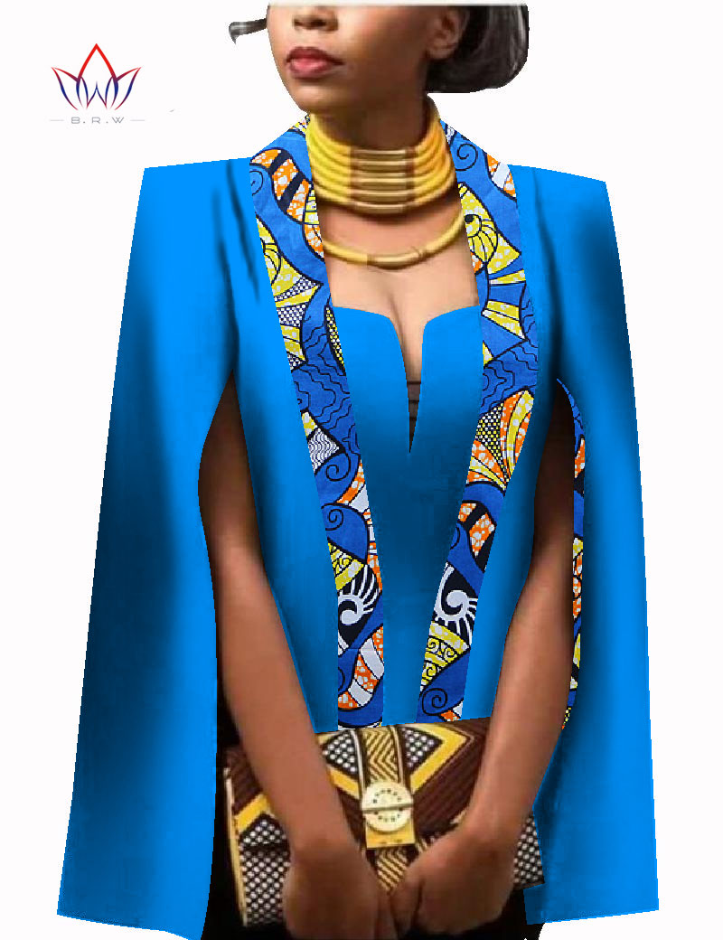 1000 Images About African Print 2 Piece Outfit On: African Women Clothing Full Sleeve Cape Coat Dress Suit