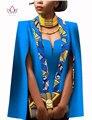 African women clothing dress capa del cabo de la manga completa traje africano tops 2 unidades set vestidos de fiesta de invierno dress ropa de las mujeres WY552