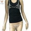Rhinestone Skirt Set Halter Sexy Lingerie Exotic Jewelry Bra Chain Crystal Nipple Body Belt Chain Jewelry HT-002