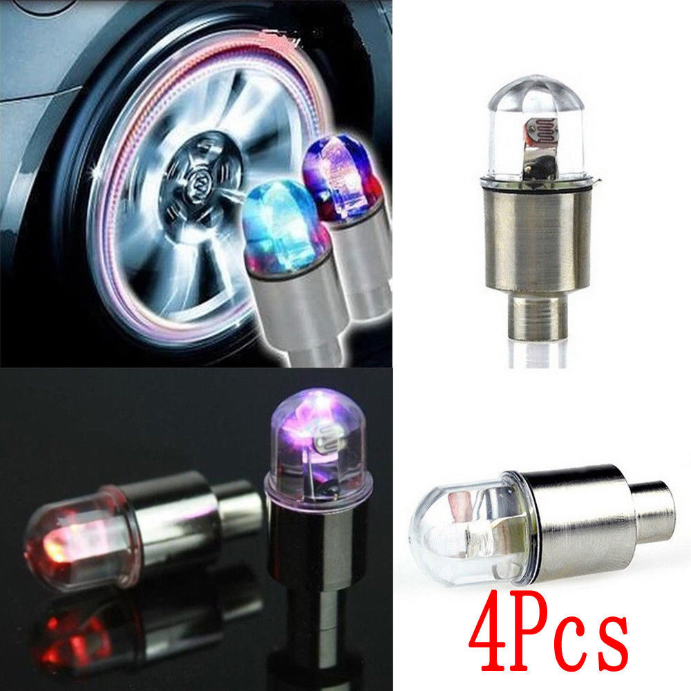 Blue Styling Wheel Neon Air Us3 Led Accessories Cap Valve Light Red Tyre 35 Tire Flash Spoke Unversal In Lamp Color 14Off car Motorcycle For fyv7Yb6g