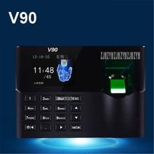 Punch-Card-Machine Fingerprint Attendance V90