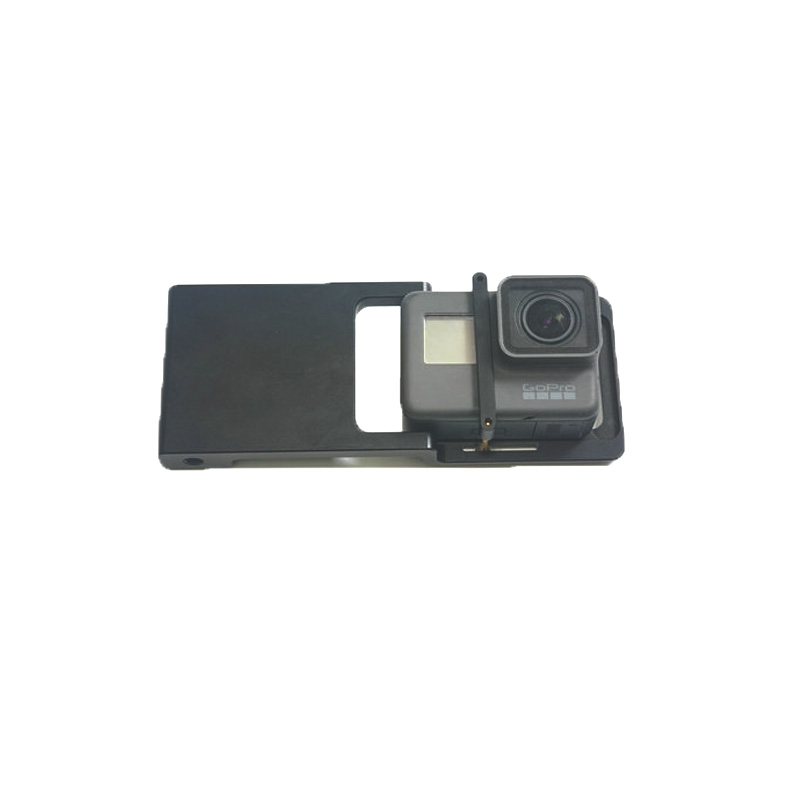 Adapter Mount Plate For gopro 3/3+/4/5/6 <font><b>Xiaomi</b></font> YI <font><b>4K</b></font> SJ4000 Action <font><b>camera</b></font> for DJI Osmo mobile 2 /Zhiyun Smooth <font><b>gimbal</b></font> Handheld image