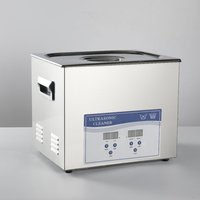 10L Ultrasonic Cleaner Fast Remove Oil Two Cleaning Cycle Digital Firearms
