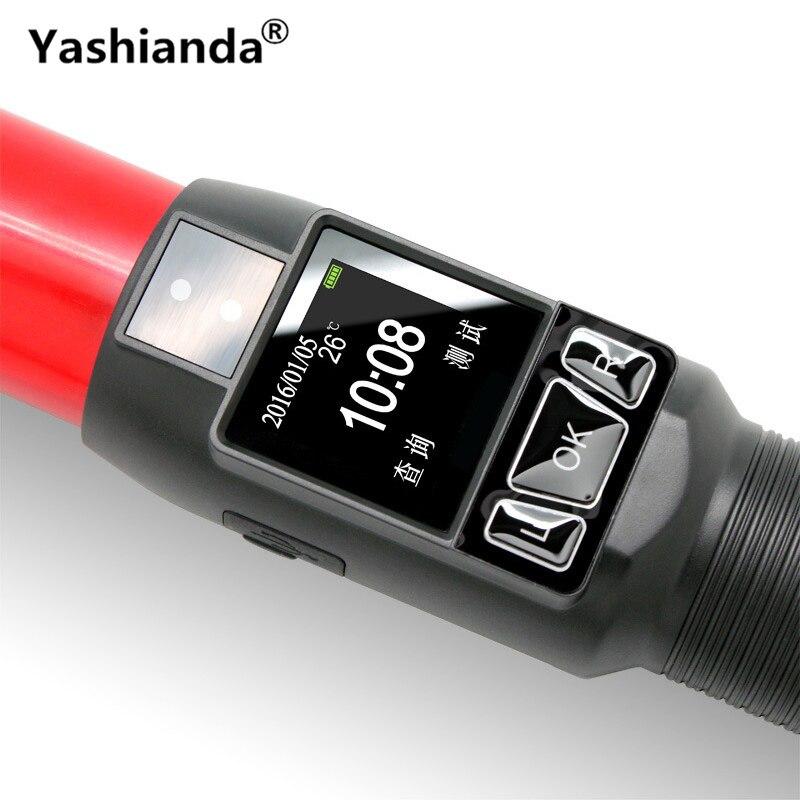 Yashianda Coup Type D'alcool Testeur LED Affichage Portable Haute-Précision Trafic Rapide Test Instrument de Test Avec lampe de Poche