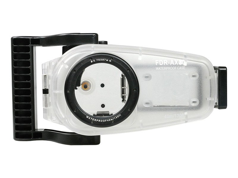 40 m/130ft pour Sony FDR-AX30 AX30/AX33/AXP33/AXP35 boîtier de caméra vidéo sous-marine étui rigide étanche
