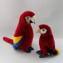 Plush  Birds  Toys  Kid  Gift  Simulation  Macaws Dolls  Props  Home Decoration Accessories