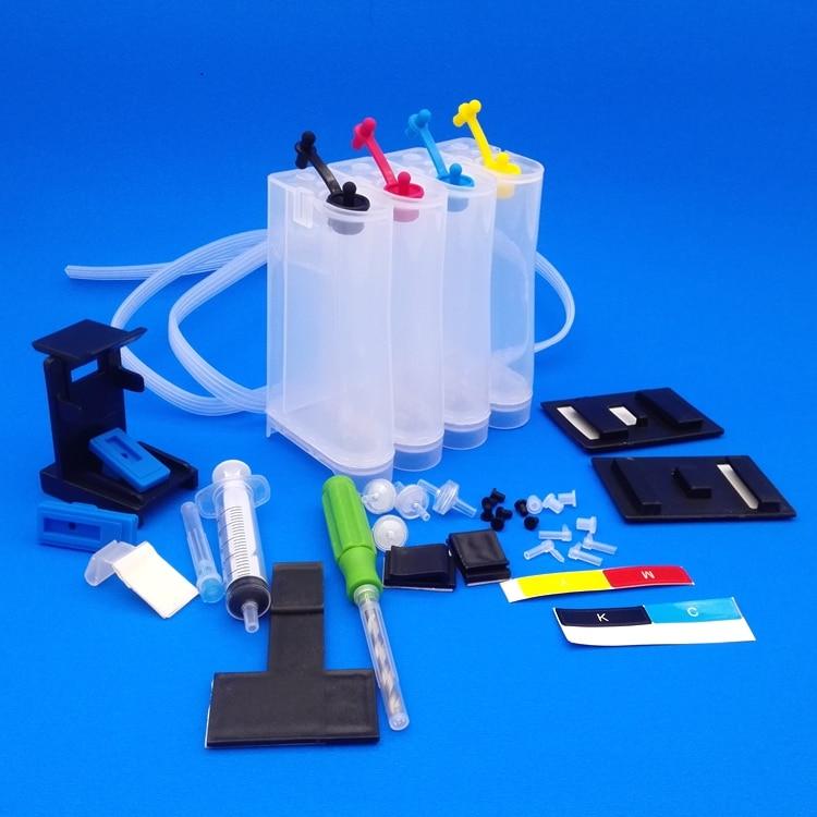 CISS-inkttank compatibel alle inkjetprinter 2133 2134 3630 1110 2130 - Office-elektronica