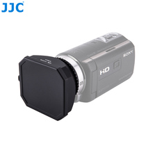 JJC мм 46 мм видеокамера DV винт капот видео камера бленда с крышкой объектива хранитель для Canon sony Panasonic JVC