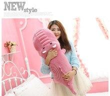 cute small  plush cartoon crocodile toy stuffed pink crocodile doll gift about 80cm
