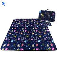 200 150CM Waterproof Foldable Camping Mat Thicken 3 Layers Outdoor Beach Picnic Blanket Tent Mat Picnic