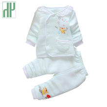 Baby girl clothes Autumn winter Infant Cotton Suits Coat+Pants Casual newborn Kids Children baby outfits tracksuit