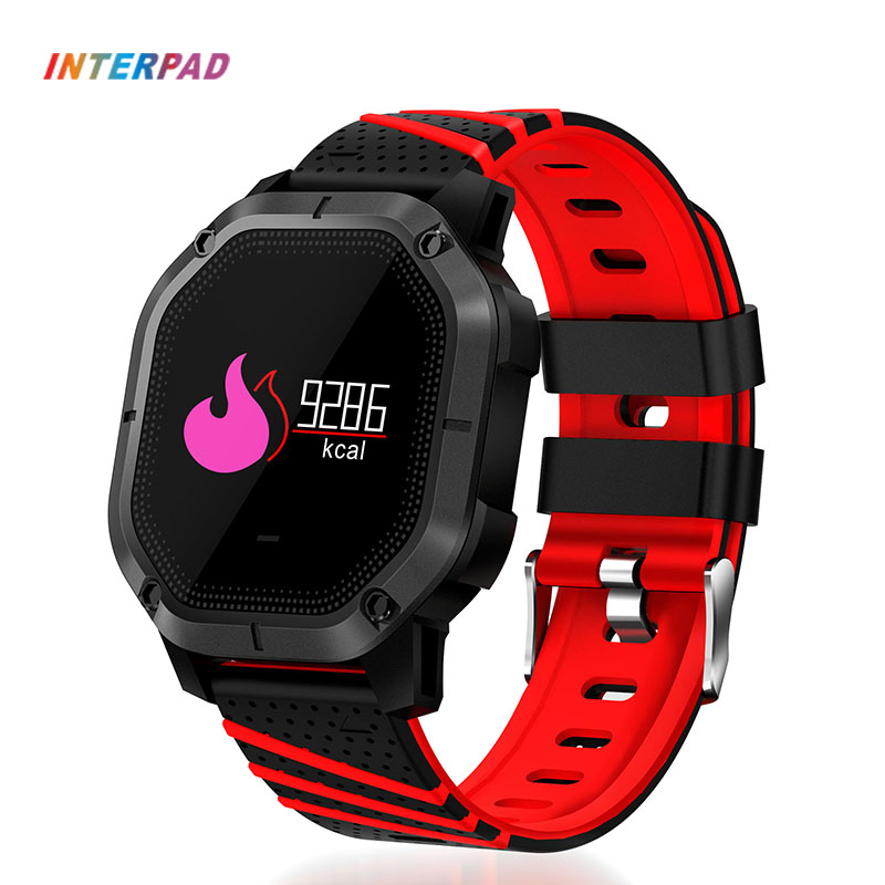 Interpad Smart Watch IP68 Waterproof Blood Oxygen Blood Pressure Smart watch Multiple Mode Sports Watch For Xiaomi Huawei