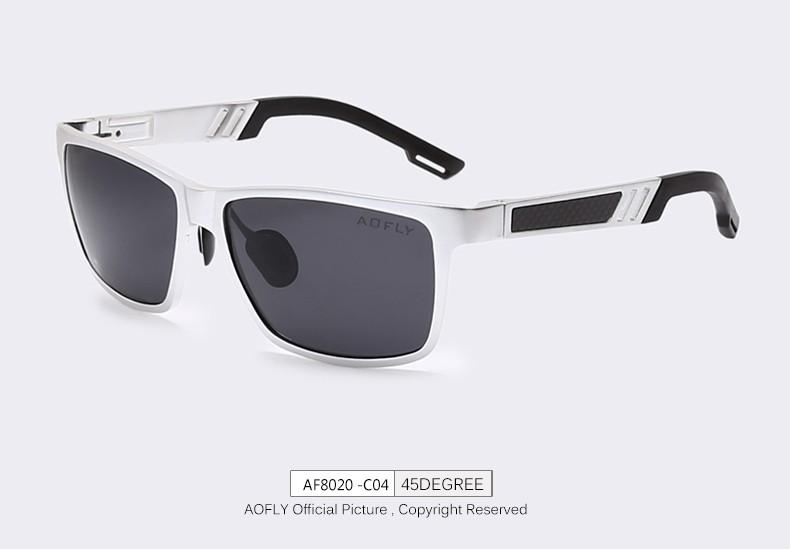 c1ef991306dca Frame Aofly Masc Alumiun Óculos de Sol em Alumínio - Polarizados - 6 ...