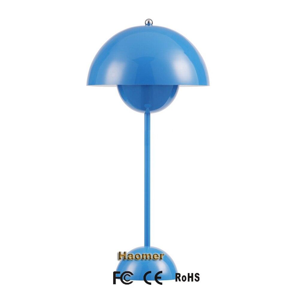 BlancnoirrougejaunebleuVerner Panton À Créative Lampe Lumières De Ufo Pot Bureau Fleurs Poser T31FKJcl
