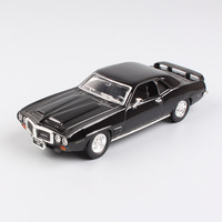 1 43 Scale Mini Pontiac 1969 Firebird Trans AM Vintage Metal Old Car Auto Pony Muscle
