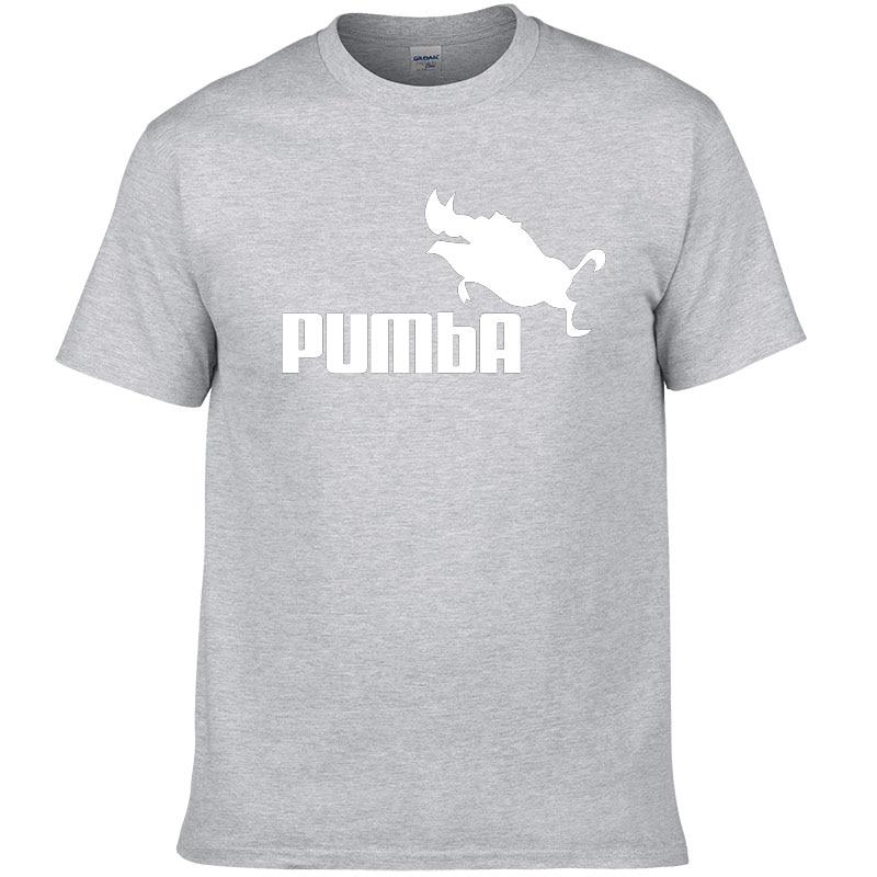 t-shirt pumba homme gris clair