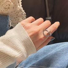 Женское кольцо с поперечным отверстием amaiyllis из стерлингового