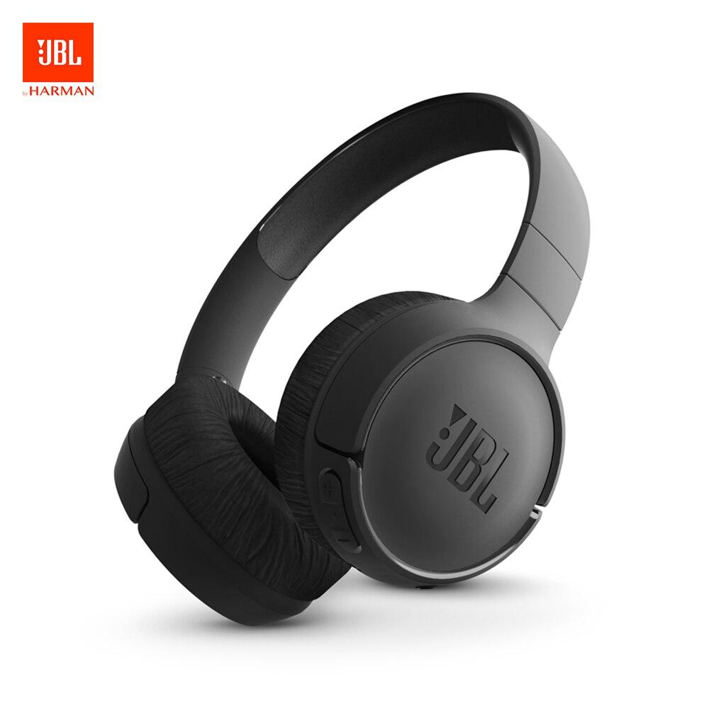 Casque d'écoute sans fil Bluetooth JBL Tune 500BT avec micro écouteurs Sport à suppression de bruit pour basses pures JBL