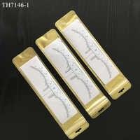50 pièces Jetable Microblading Sourcil Règle Autocollant Pochoirs Outil De Mesure pour le Maquillage Permanent Accessoires Fournitures De Tatouage