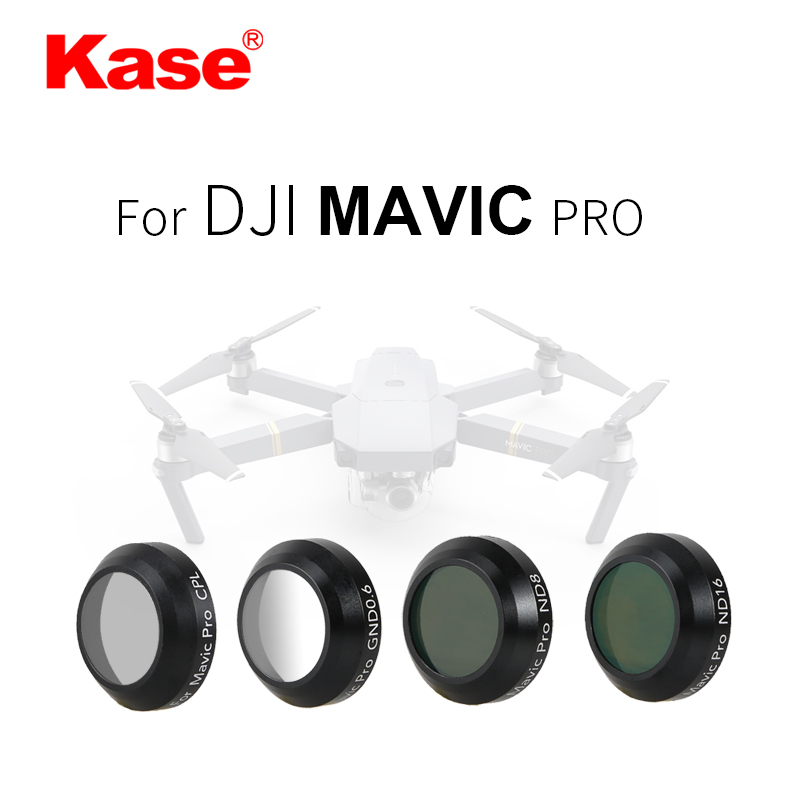 Kase DJI Mavic pro accrssories filter ND8+ND16 CPL GND0.6 for FPV Drone parts фильтр для объектива kase cpl 62mm