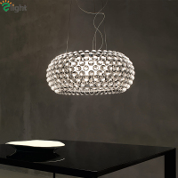 Nordic Caboche Led Pendant Lights Dining Room Clear Balls Led Pendant Lamp Living Room Led Pendant Light Hanging Light Fixtures