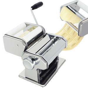 Image 4 - Машина для изготовления лапши, пасты из нержавеющей стали, машина для изготовления лазаньей, резки, Равиоли, вареников, машина с двумя резаками
