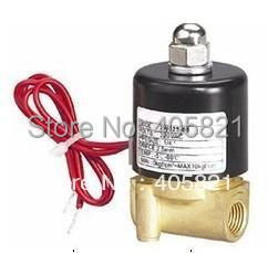 12V DC 1/8 Electric Solenoid Valve Water Air N/C Gas Water Air 2W025-06 ,AC220V DC24V 12V,full brass 220v ac 1 8 n c normally closed plastic electric air gas water solenoid valve black
