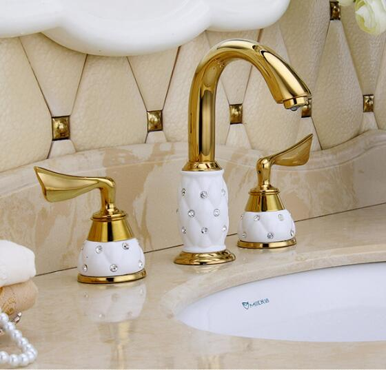 New Arrivals luxury basin faucet 8 inch water tap brass ...