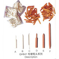 200pcs/lot Pen Plater Tips Five Shapes for Jewelry Palting Machine Jewellery Tools